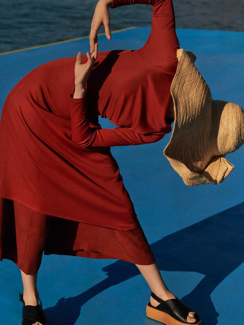 Mateusz Stankiewicz SAMESAME agency RESERVED SS 2019 moda Taja Freist