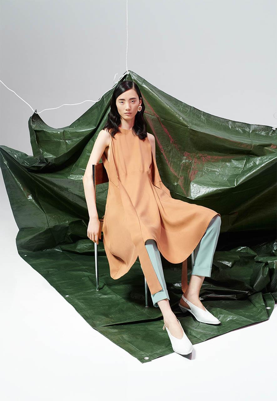 fashion Wunsche&Samsel RESERVED Premium campaign SS2019
