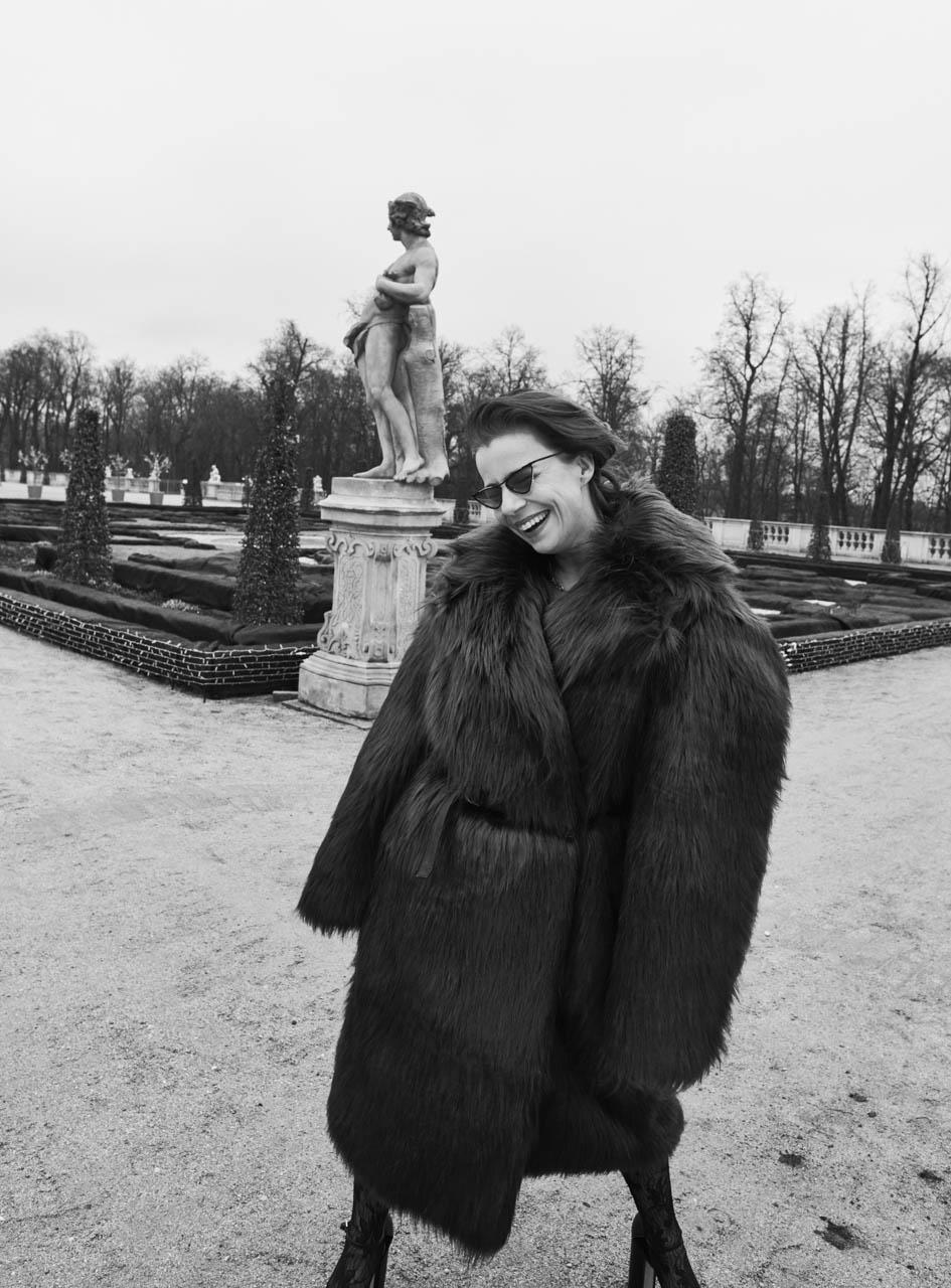 Agata Kulesza for VOGUE Polska