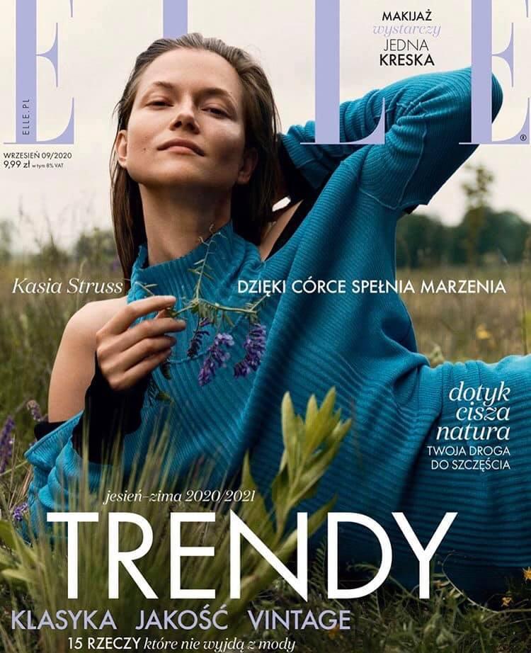 ELLE Polska cover story